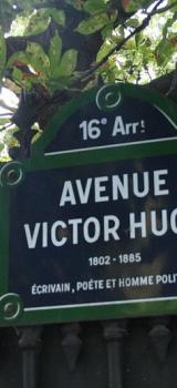 In which arrondissement is Av. Victor Hugo located?